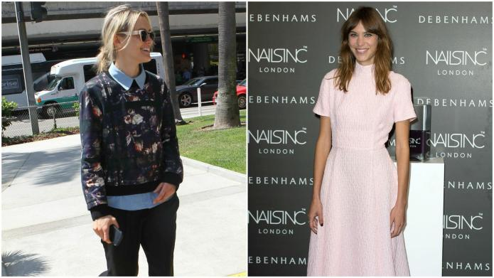 Taylor Schilling and Alexa Chung in