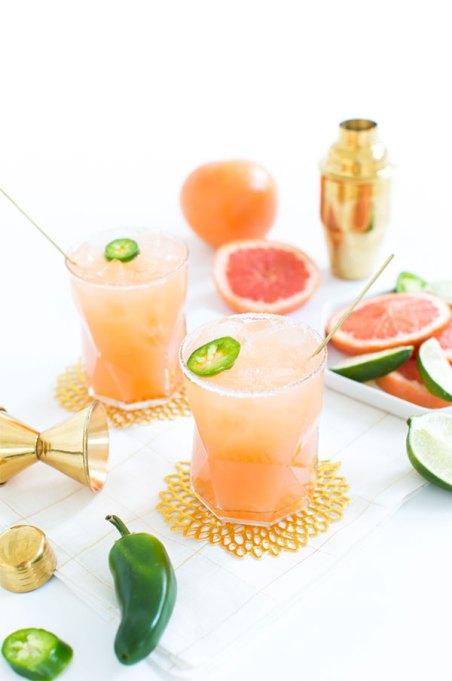 LaCroix Cocktails: Spicy grapefruit palomas hit the spot