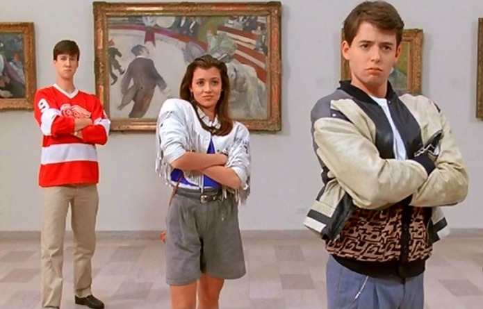 The cast of 'Ferris Bueller's Day