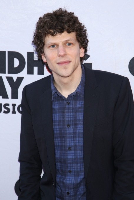 Celebrities' first Father's Day - Jesse Eisenberg
