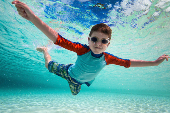 Adorable swimsuits for boys that prove