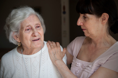 Caring for my mother with Alzheimer's