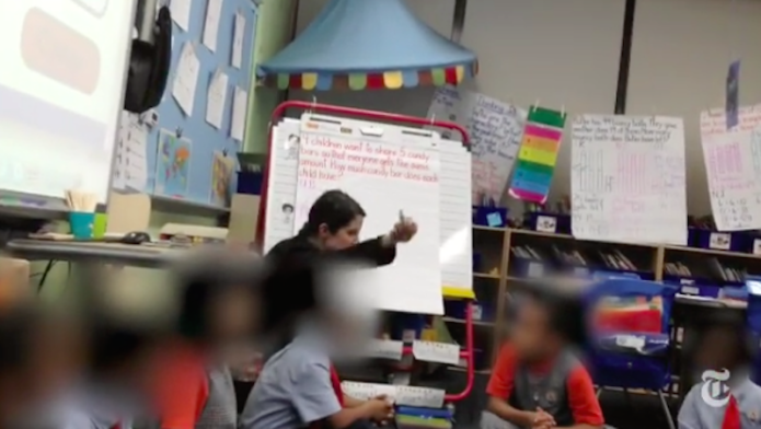 Chilling video of teacher shaming a
