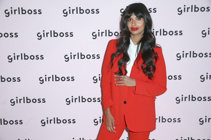 Jameela Jamil attends the Girlboss Rally in LA
