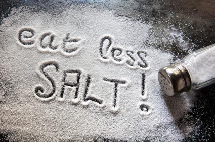 Risk in cutting salt?