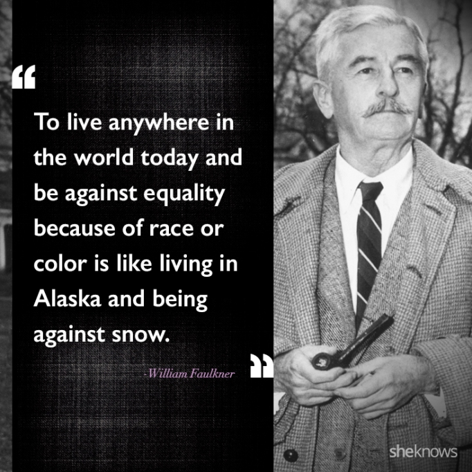 William Faulkner race quote