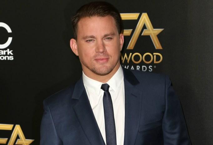 Channing Tatum Golden Globes
