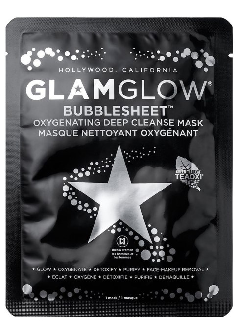 Charcoal Beauty Products: GlamGlow Bubblesheet | Skin Care Products 2017