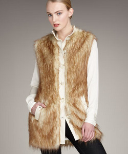 Rachel Zoe Faux-Fur Vest