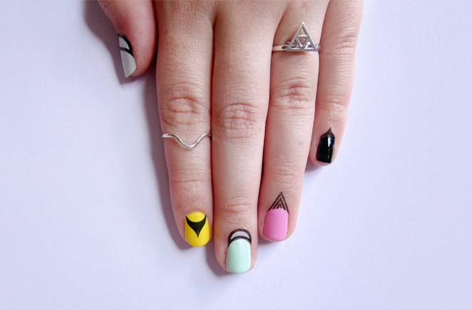 Rad Nails' Cuticle Tattoos