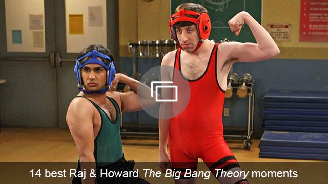 Raj & Howard TBBT slideshow