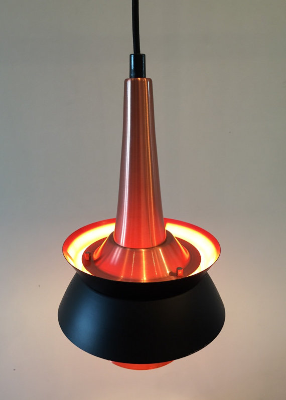 Vintage copper lighting