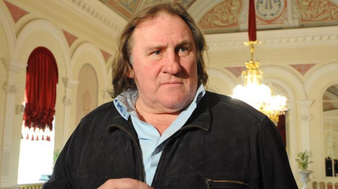 Gerard Depardieu has an insatiable thirst