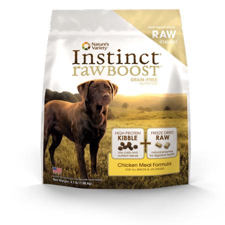 Nature's Variety Instinct Raw Boost dog food
