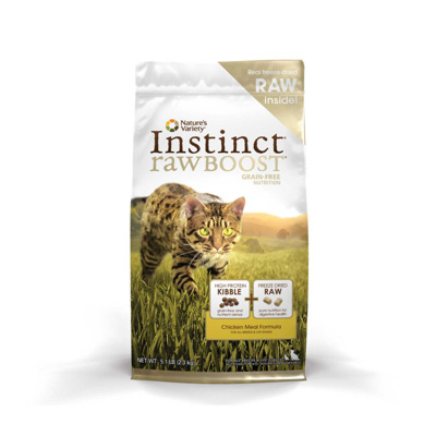 Nature's Variety Instinct Raw Boost cat food