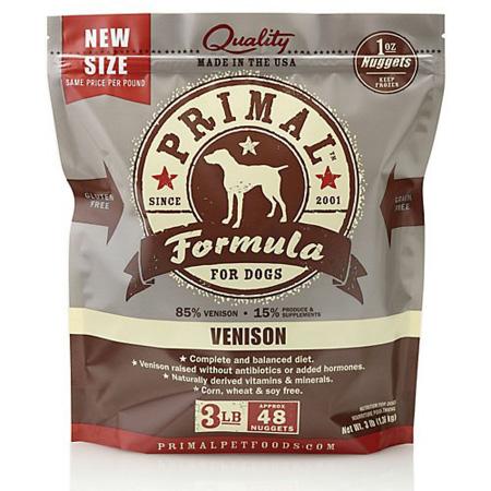 Primal Canine Venison dog food