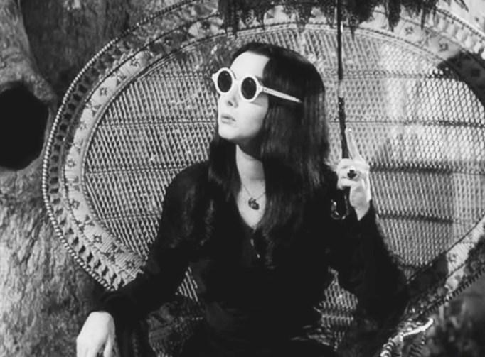 Carolyn Jones as Morticia Addams on 'The Addams Family'