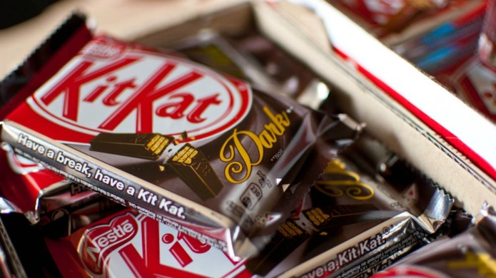 Woman demands KitKats for life after