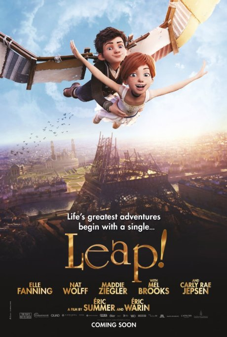 'Leap!' movie poster