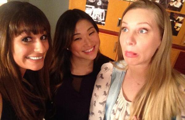 Mommy tweets: Glee's Heather Morris, Gwen