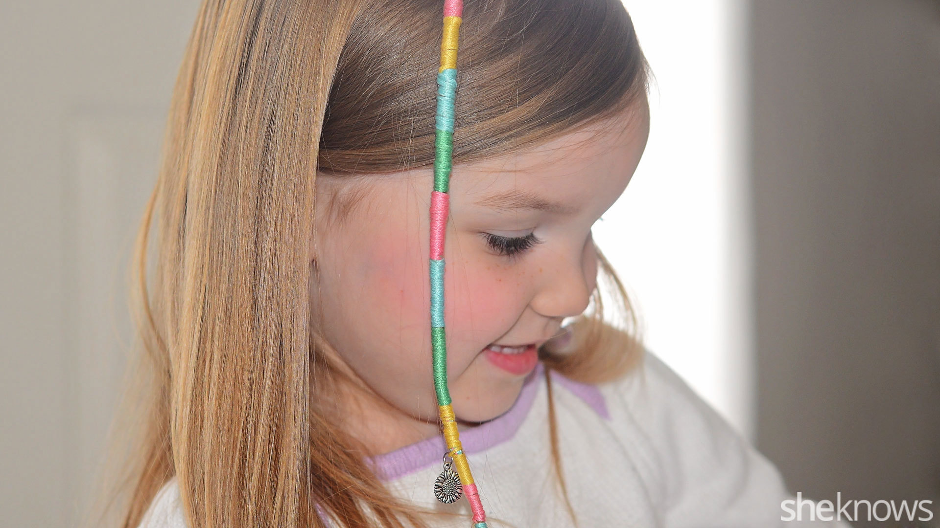 Learn to make your own hair wraps for summer – SheKnows