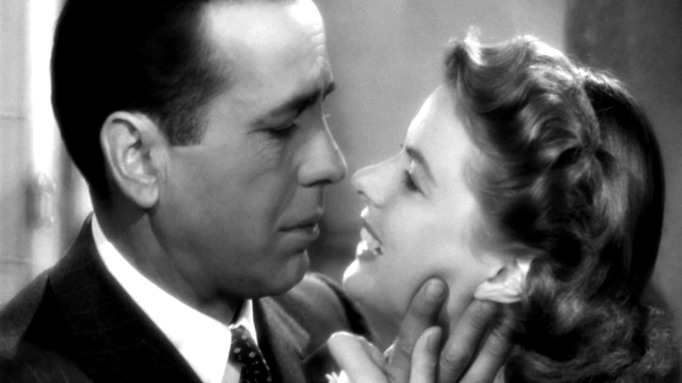 movie kisses Casablanca
