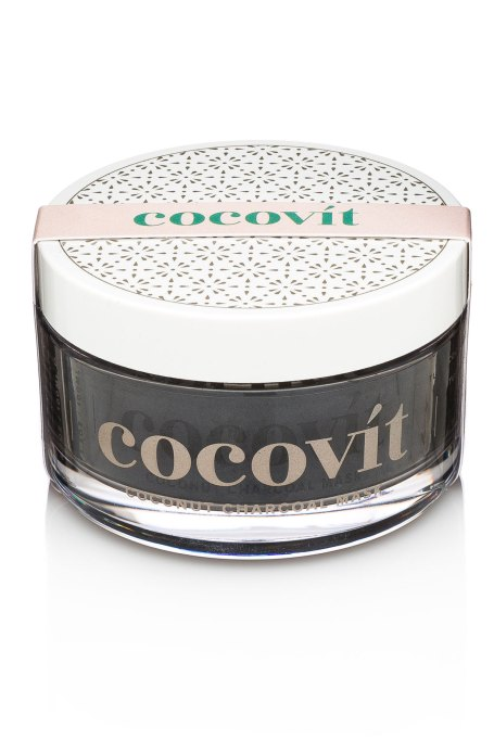 Best Coconut-Oil Beauty Products to Try Today: Cocovít Coconut Charcoal Face Mask | Summer body care 2017