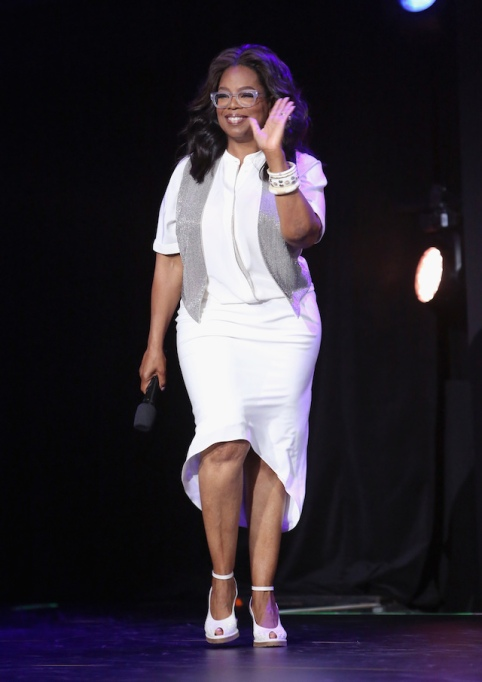 Celebrities running for office: Oprah Winfrey