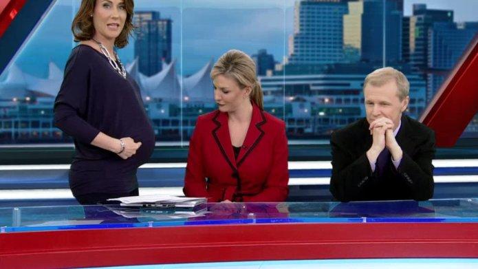 Pregnant meteorologist told her on-screen wardrobe