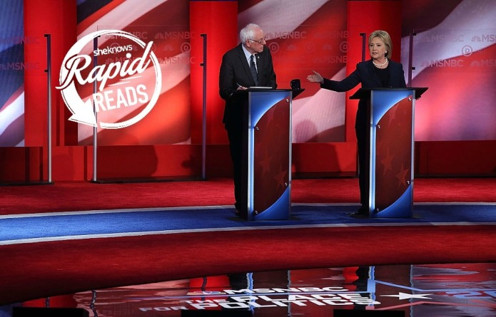 Hillary and Bernie face off in