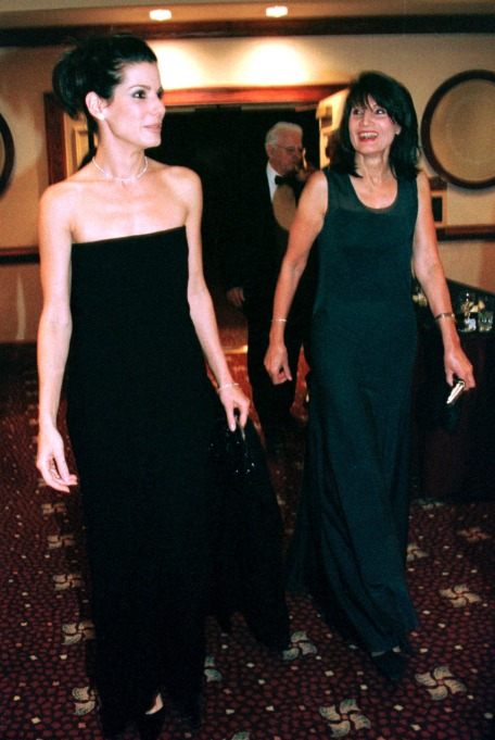 Sandra Bullock and her mom, Helga