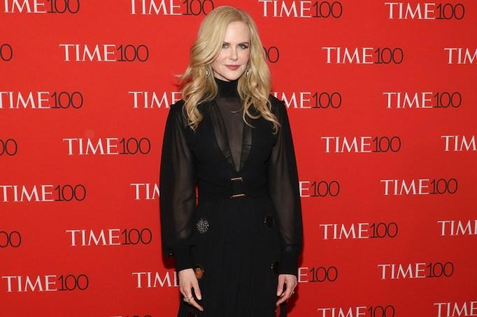 Nicole Kidman attends the 2018 Time 100 Gala