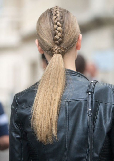 Standout Ways To Style Long Hair | Backside Braid