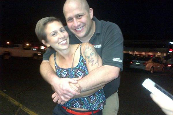 Stephanie and her fiance
