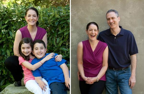 Jane Schwartzberg and family