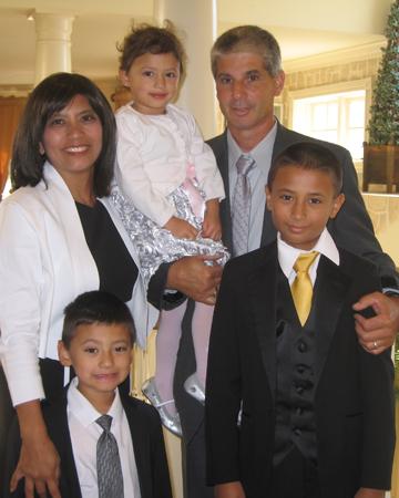 Liz D'Amato and family