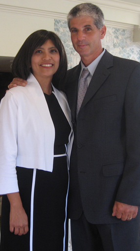 Liz D'Amato and husband
