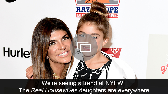 Real Housewives kids NYFW slideshow