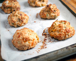 Meatball bubble biscuits
