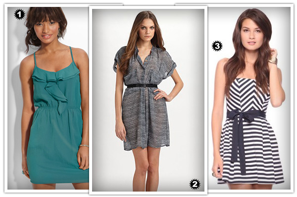 Casual dresses for rectangles