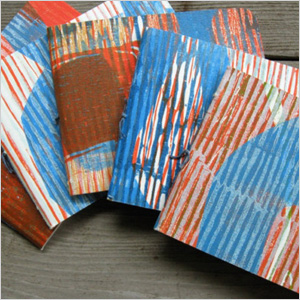 Journal with recycled pages