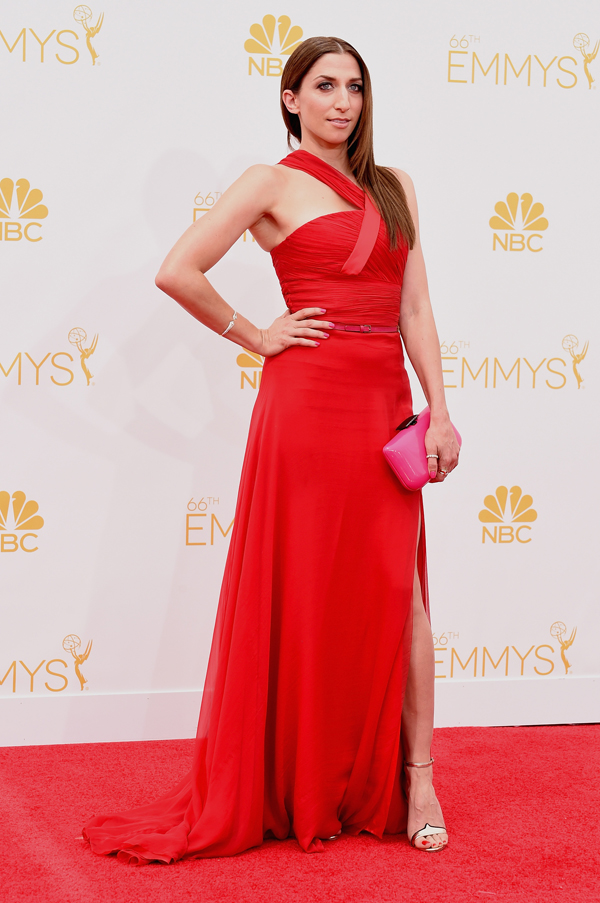 Chelsea Peretti at the 2014 Emmys