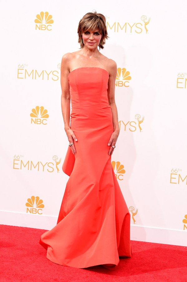 Lisa Rinna at the 2014 Emmys