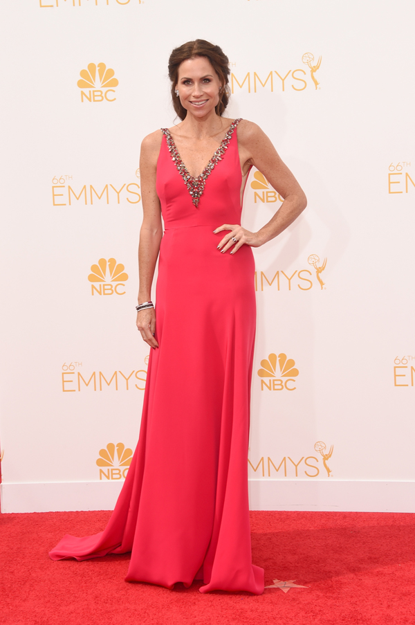 Minnie Driver at the 2014 Emmys