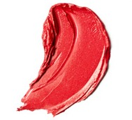 red lipstick smear