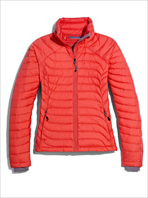 Red Puffer Jacket (Marshalls, $100)