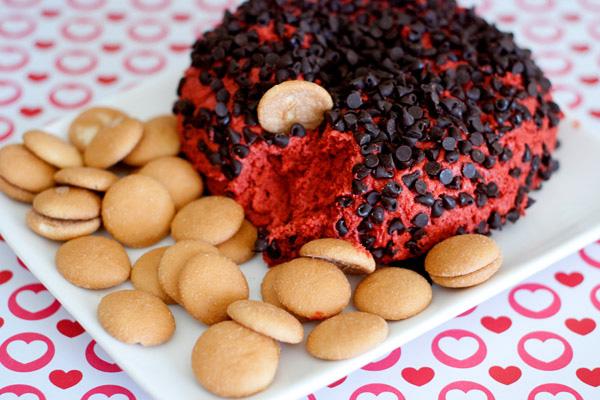 red velvet cheesecake ball