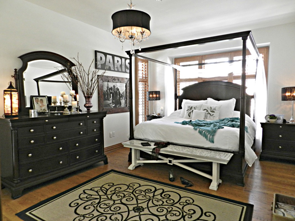 Red Head Can Decorate - Blogger bedroom