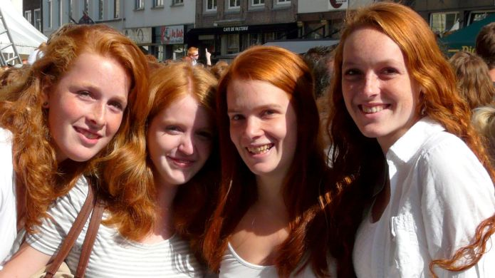 Redheads the world over invited to