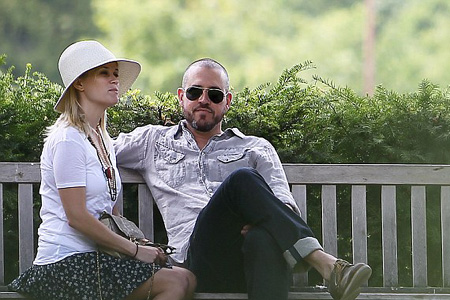 Reese Witherspoon and Jim Toth in Paris